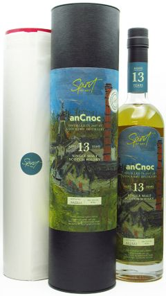 anCnoc - Spirit of Art & FREE Print - Single Cask # 13 year old Whisky