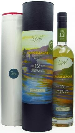 Craigellachie - Spirit of Art & FREE Print - Single Cask # 12 year old Whisky