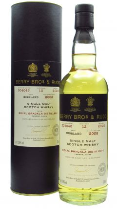 Royal Brackla - Berry Bros. & Rudd Single Cask #304043 - 2008 12 year old Whiskey