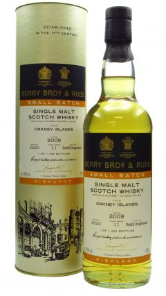 Secret Orkney - Berry Bros. & Rudd Small Batch - 2009 11 year old Whiskey