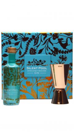 Silent Pool - Gift Set - Cocktail Jigger & 5cl Silent Pool Miniature Gin