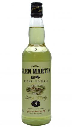 Secret Highlands - Glen Martin Pure Highland Malt Scotch 5 year old Whisky