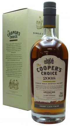 Ardmore - Cooper's Choice Single Cask #9609 - 2008 10 year old Whisky