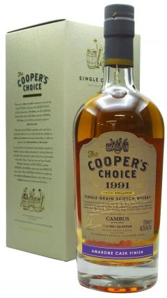 Cambus (silent) - Cooper's Choice Single Cask #9067 - 1991 29 year old Whisky