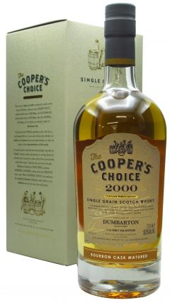 Dumbarton (silent) - Cooper's Choice Single Cask #211094 - 2000 20 year old Whisky