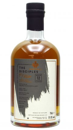 Craigellachie - The Disciples 1st Edition Single Cask #900777 - 2007 12 year old Whisky