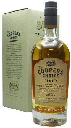 Girvan - Cooper's Choice Single Cask #169111 - 1990 30 year old Whisky