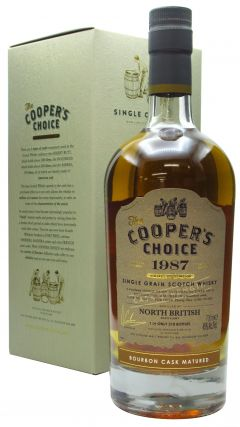 North British - Cooper's Choice Single Cask #238572 - 1987 32 year old Whisky