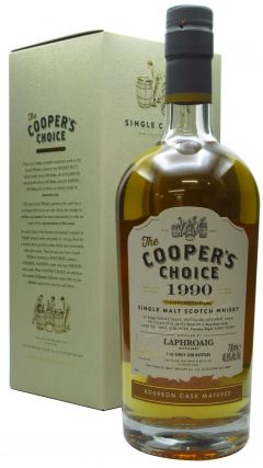Laphroaig - Cooper's Choice - Single Cask #10869 - 1990 28 year old Whisky