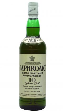 Laphroaig - Islay Single Malt (old bottling) 10 year old Whisky