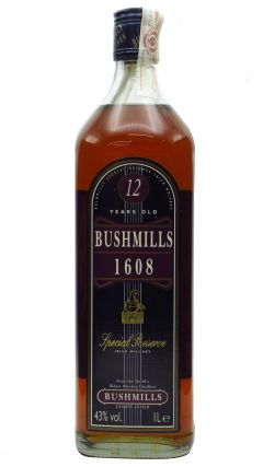 Bushmills - 1608 Special Reserve (old bottling) 12 year old Whiskey