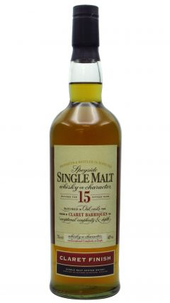 Secret Speyside - Claret Finish Speyside Single Malt 15 year old Whisky