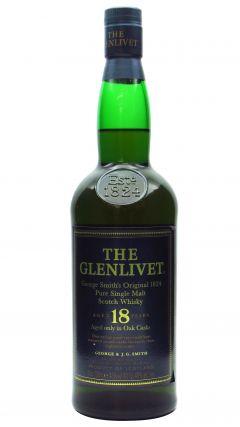 Glenlivet - Pure Single Malt (old bottling) 18 year old Whisky
