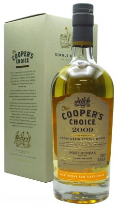 Port Dundas (silent) - Cooper's Choice Single Cask #9027 - 2009 10 year old Whisky