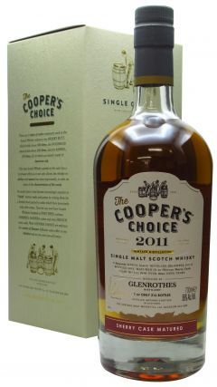 Glenrothes - Cooper's Choice - Single Cask #312 - 2011 9 year old Whisky