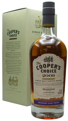 Deanston - Cooper's Choice - Single Cask #9046 - 2009 11 year old Whisky