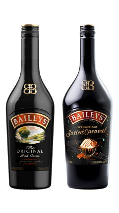 Baileys - Original & Salted Caramel Irish Cream Liqueur