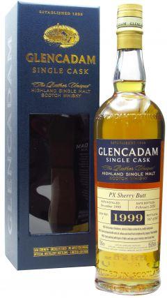 Glencadam - Single Cask #1 PX Sherry Butt - 1999 20 year old Whisky