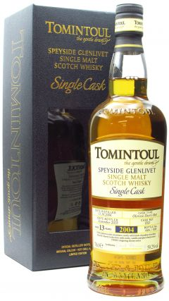 Tomintoul - Single Cask #5 Sherry Butt - 2004 13 year old Whisky