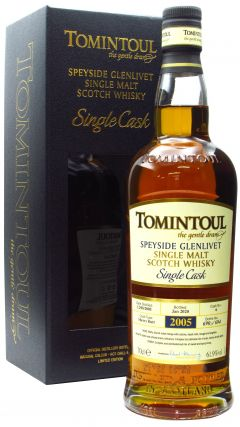 Tomintoul - Single Cask #6 Sherry Butt - 2005 14 year old Whisky
