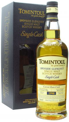 Tomintoul - Single Cask #338117 Caroni Rum Barrel - 1998 22 year old Whisky