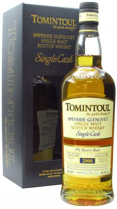 Tomintoul - Single Cask #1 PX Sherry Butt - 2000 19 year old Whisky