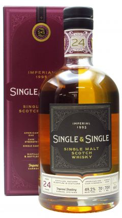 Imperial (silent) - Single & Single - 1995 24 year old Whisky