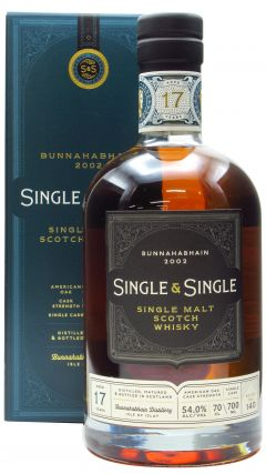 Bunnahabhain - Single & Single - 2002 17 year old Whisky