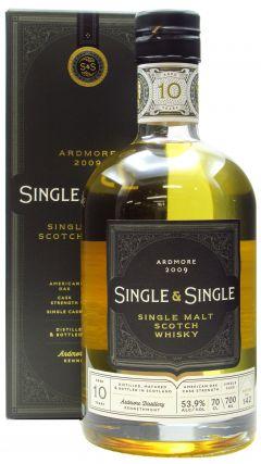 Ardmore - Single & Single - 2009 10 year old Whisky