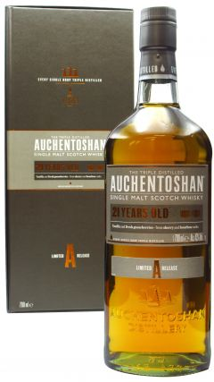 Auchentoshan - Lowland Single Malt 21 year old Whisky