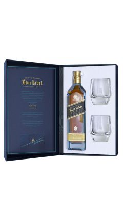 Johnnie Walker - Blue Label - 2 x Crystal Glasses 2020 Gift Pack Whisky