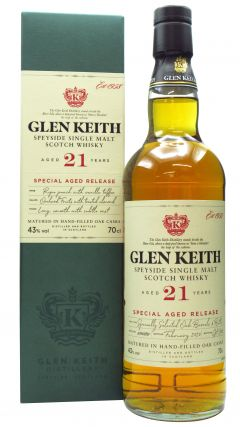Glen Keith - Secret Speyside Single Malt Scotch 21 year old Whisky