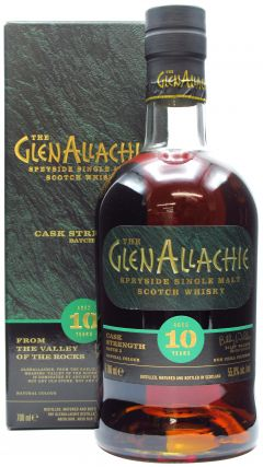 GlenAllachie - Cask Strength Batch #5 - 2010 10 year old Whisky
