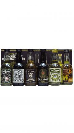 Remarkable Regional Malts - Gift Pack (6 x 5cl) Whisky