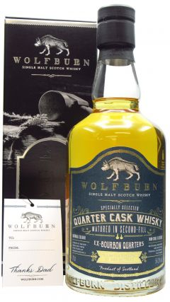 Wolfburn - Quarter Cask - Father's Day 2021 7 year old Whisky