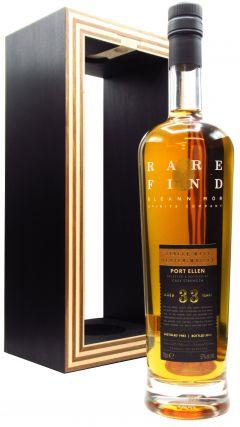 Port Ellen (silent) - Gleann Mor Rare Find Single Cask - 1983 33 year old Whisky