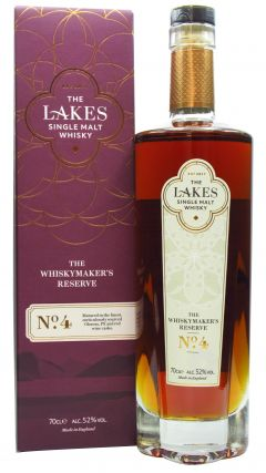 The Lakes - Whiskymakers Reserve No. 4 Whisky