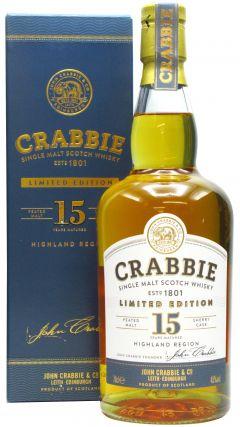 Crabbie - Highland Single Malt 15 year old Whisky