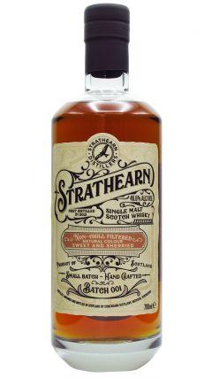 Strathearn - Highland Single Malt Batch 001 - 2016 3 year old Whisky