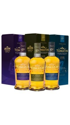 Tomatin - 3 x 70cl - French Collection Trio - 2008 12 year old Whisky