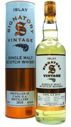 Caol Ila - Signatory Vintage - 2010 10 year old Whisky