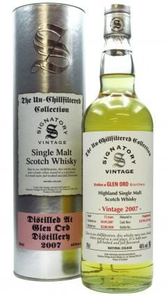 Glen Ord - Signatory Vintage - 2007 12 year old Whisky