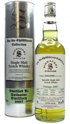 Dailuaine - Signatory Vintage - 2007 13 year old Whisky
