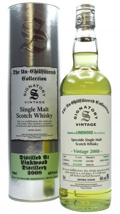 Linkwood - Signatory Vintage  - 2008 12 year old Whisky