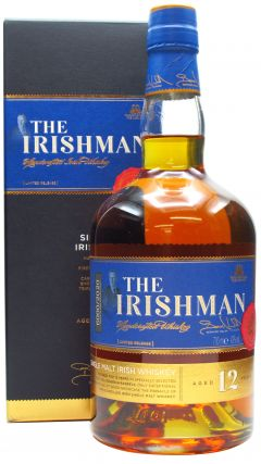 The Irishman - Single Malt Irish 12 year old Whiskey