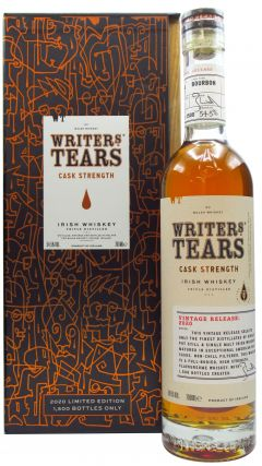 Writers Tears - Cask Strength 2020 Edition Irish Whiskey