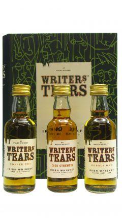 Writers Tears - Mini Gift Book Set - 3 x 5cl Whiskey