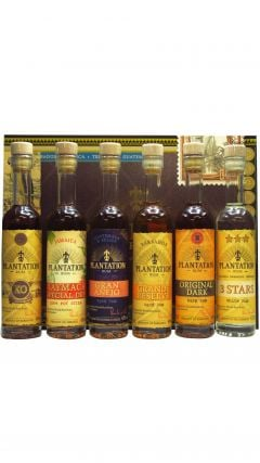 Plantation - Experience Box Gift Set - 6 x 10cl Rum