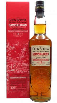 Glen Scotia - Campbeltown Malts Festival 2021 Edition 10 year old Whisky