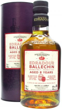Edradour - Ballechin - Double Malt Double Cask  8 year old Whisky